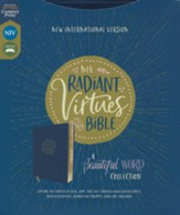 NIV Radiant Virtues Bible: A Beautiful Word Collection, Comfort Print--soft leather-look, navy