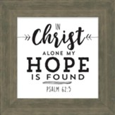 Hope Is Found Box Plaque