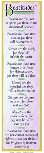 Beatitudes; Package of 10