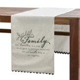 Family Like Branches in a Tree Table Runner