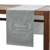 Home is Where Our Story Begins Table Runner