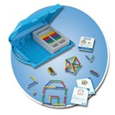 GEOMAG Education Kit: Shape & Space (62 Pieces)