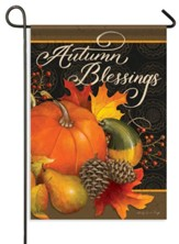 Fruits of Fall, Autumn Blessings Flag, Small