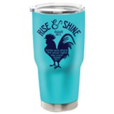 Rise and Shine Stainless Steel Tumbler, Teal