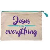 Jesus Over Everything Carry-All Bag