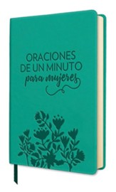 Oraciones de un minuto para mujeres, cuero de imitación (One Minute Prayers for Women, Imitation Leather)