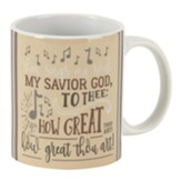 Then Sings My Soul Mug