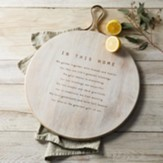 In this Home Large Serving Board