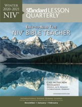 Standard Lesson Quarterly: Adult Teacher (NIV) Winter 20-21
