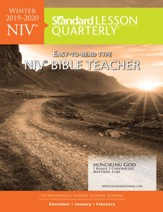 Standard Lesson Quarterly: NIV ® Bible Teacher, Winter 2019-20