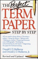 Perfect Term Paper: Step-By-Step