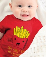 Small Fry Shirt, Red, 6 Months