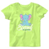 Baby Elephant Shirt, Key Lime, 6 Months