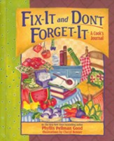 Fix-It and Don't Forget-It Journal: A Cook's Journal - Slightly Imperfect