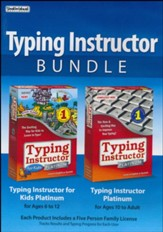 Typing Instructor Bundle CD-ROMs