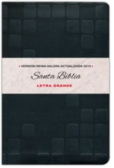 Biblia RVA 2015 Letra Grande, Imitacion Piel, Negra (Large Print, Imitation Leather, Black)
