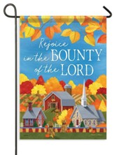 Bounty of the Lord, Rejoice Flag, Small
