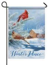 Winter Peace Flag, Small