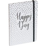 Happy Day Journal with Elastic Closure