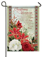Christmas in Heaven Flag, Small