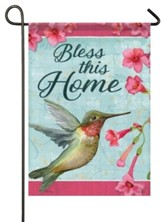 Bless This Home (hummingbird), Small Flag