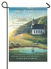 The Lord Is My Shepherd Flag, Small