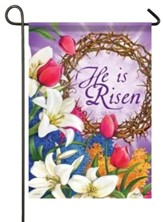 He Is Risen Small Flag