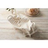 Faith, Ceramic Bread Basket with Towel