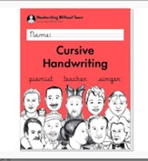 Cursive Handwriting Student Workbook (2018 Edition)
