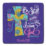 Be Still and Know Coasters, Set of 2