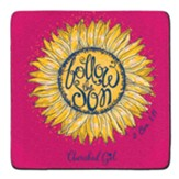 Follow the Son Coasters, Set of 2