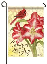 Comfort and Joy, Amaryllis, Flag, Small