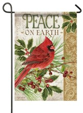 Peace on Earth, Cardinal, Flag, Small