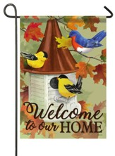 Welcome To Our Home, Songbird Meeting, Flag, Small
