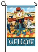 Welcome, Scarecrow, Flag, Small