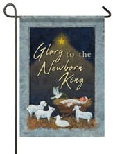 Glory to the Newborn King Flag, Small