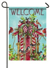 Welcome, Songbird Sled, Flag, Small