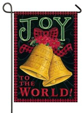 Joy To the World, Beautiful Bells, Flag, Small