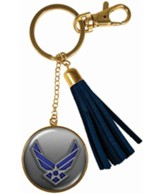 Air Force Keyring with Tassel