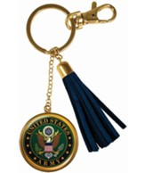 United States Army Keyring with Tassel