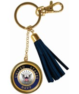 United States Navy Keyring with Tassel
