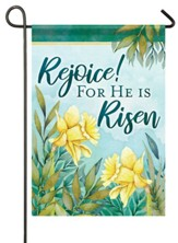 Rejoice! For He Is Risen, Signs of Spring, Flag, Small