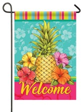 Welcome, Cabana Brights, Flag, Small