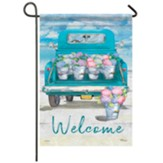 Flower Truck Garden Flag, Small