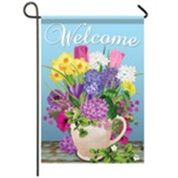 Fresh Cut Flowers Garden Flag, Small