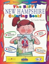 New Hampshire Coloring Book, Grades PreK-3
