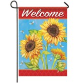Sunflower Field Garden Flag, Small