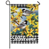 Spring Forsythia Garden Flag, Small