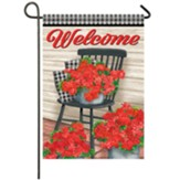 Farmhouse Floral Garden Flag, Small