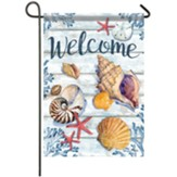 Bahia Shells Garden Flag, Small